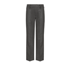 Junior Single Pleated Pull Up Trousers